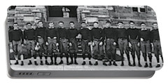 Georgetown Football Squad Washington Dc Portable Battery Charger by Fred Schutz Collection