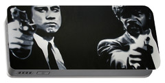 - Pulp Fiction - Portable Battery Charger by Luis Ludzska