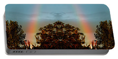 The Rainbow Effect Portable Battery Charger by Sue Stefanowicz