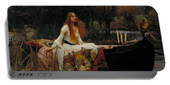 The Lady Of Shalott Portable Battery Charger