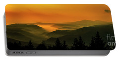 Allegheny Mountain Sunrise Portable Battery Charger