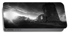 Bradgate Park At Dusk Portable Battery Charger