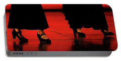 Portable Battery Charger featuring the photograph Flamenco 2 by Pedro Cardona