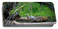 Heron Habitat Portable Battery Charger by Sue Stefanowicz