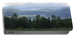 Jay Peak From Irasburg Portable Battery Charger