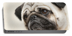 L-o-l-a Lola The Pug Portable Battery Charger by Kathy Clark