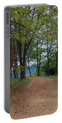Portable Battery Charger featuring the photograph Pathway by Eric Liller