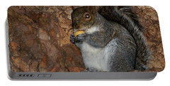 Portable Battery Charger featuring the photograph Squirrell by Pedro Cardona