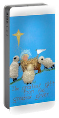 The Greatest Gift Portable Battery Charger by Sally Weigand