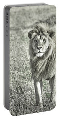 The King Stands Tall Portable Battery Charger by Darcy Michaelchuk