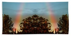 The Rainbow Effect Beach Towel by Sue Stefanowicz