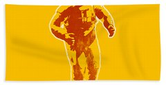 Astronaut Graphic Beach Towel by Pixel Chimp