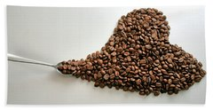 Coffee Lover Beach Towel