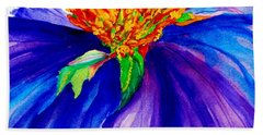 Graceful Curves Beach Towel by Lil Taylor