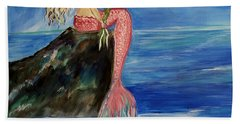 Mermaid Wishes Beach Towel