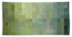 Modern Tile Art One Modern Decor Collection Beach Sheet by Mark Lawrence