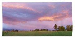 Montana Sunsets 3 Beach Sheet