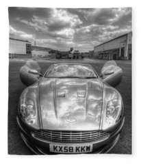 Aston Martin Dbs Fleece Blanket