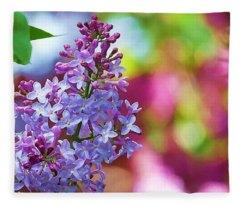 Lilacs 2012 Fleece Blanket