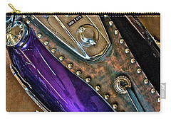 1953 Purple Harley Panhead Carry-all Pouch