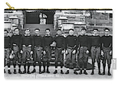 Georgetown Football Squad Washington Dc Carry-all Pouch by Fred Schutz Collection