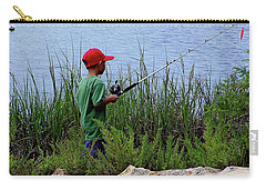 Fishing At Hickory Mound Carry-all Pouch