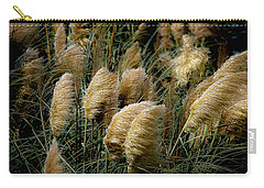 Golden Pampas In The Wind Carry-all Pouch