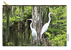 Great White Egrets Carry-all Pouch