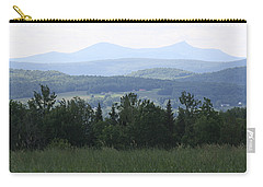 Jay Peak From Irasburg Carry-all Pouch by Donna Walsh