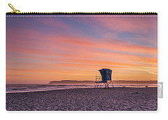 Lifeguard Tower Sunset Carry-all Pouch