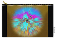 Carry-all Pouch featuring the digital art Mirage. Unique Art Collection by Oksana Semenchenko