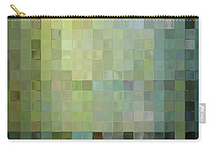 Modern Tile Art One Modern Decor Collection Carry-all Pouch