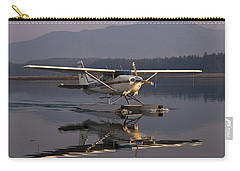 Reflections Of A Float Plane Carry-all Pouch by Darcy Michaelchuk