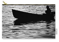 Carry-all Pouch featuring the photograph The Old Fishermen by Pedro Cardona
