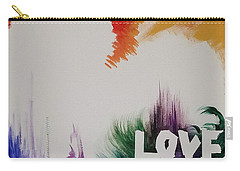 Tumultuous Love Carry-all Pouch by Autumn Leaves Art