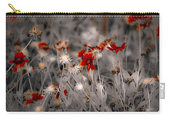 Wildflowers Of The Dunes Carry-all Pouch