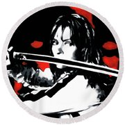 Kill Bill Round Beach Towel