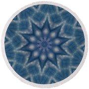 Sky Mandalas 6 Round Beach Towel