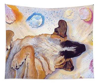Dog Dreams Tapestry