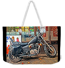 1983 Vt750 C Honda Shadow Weekender Tote Bag by Greg Sigrist