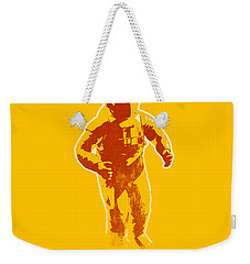 Astronaut Graphic Weekender Tote Bag by Pixel Chimp