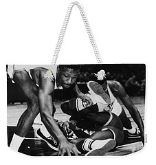 Bill Russell (1934- ) Weekender Tote Bag