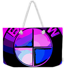 BMW Weekender Tote Bag by George Pedro