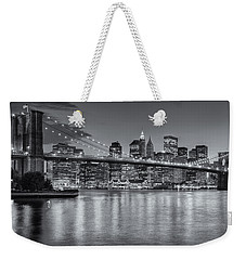 Brooklyn Bridge Twilight II Weekender Tote Bag