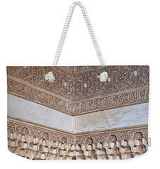 Colorful Carved Corner Weekender Tote Bag