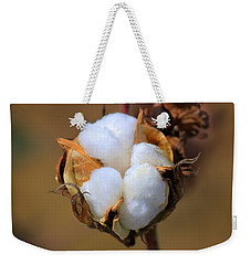 Cotton Boll Weekender Tote Bag