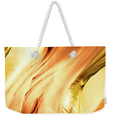 Curves Weekender Tote Bag by Linda Sannuti