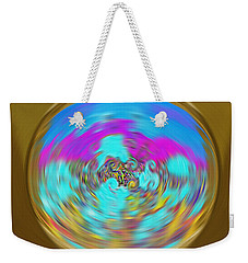 Enchanted View. Unique Art Collection Weekender Tote Bag by Oksana Semenchenko