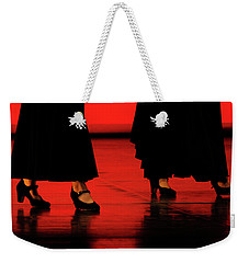 Weekender Tote Bag featuring the photograph Flamenco 2 by Pedro Cardona