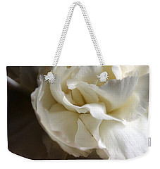 Weekender Tote Bag featuring the photograph Flower Beauty by Deniece Platt